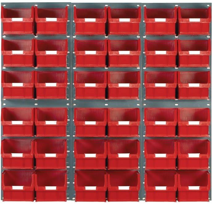 Panneaux d'accrochage à fentes 2 x 3