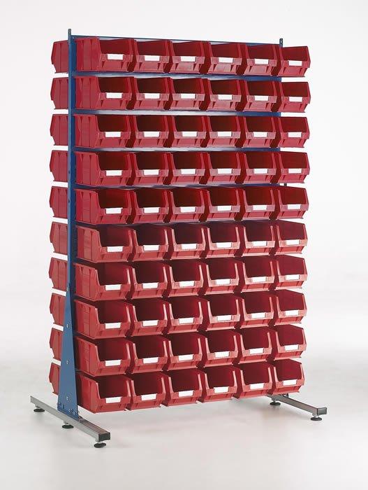 Panneaux à fentes double face avec kit bacs