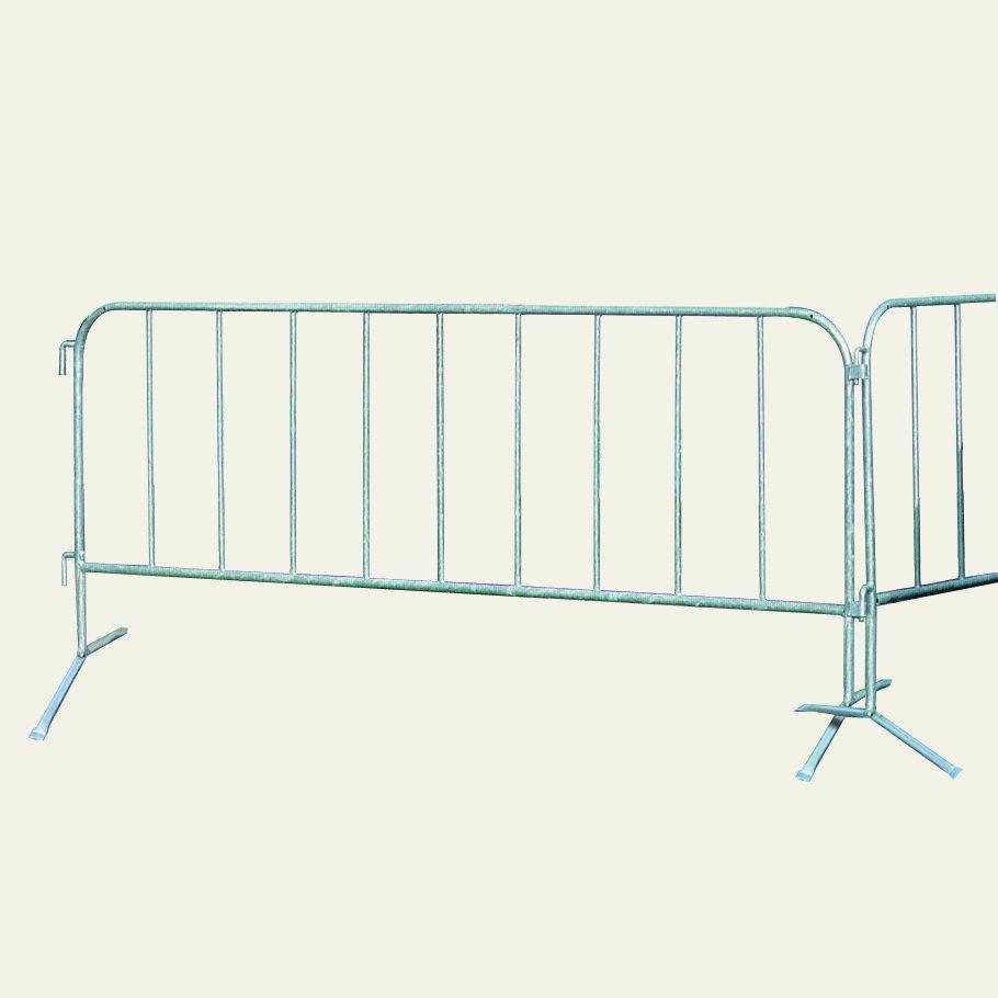 Barrières de chantier en acier
