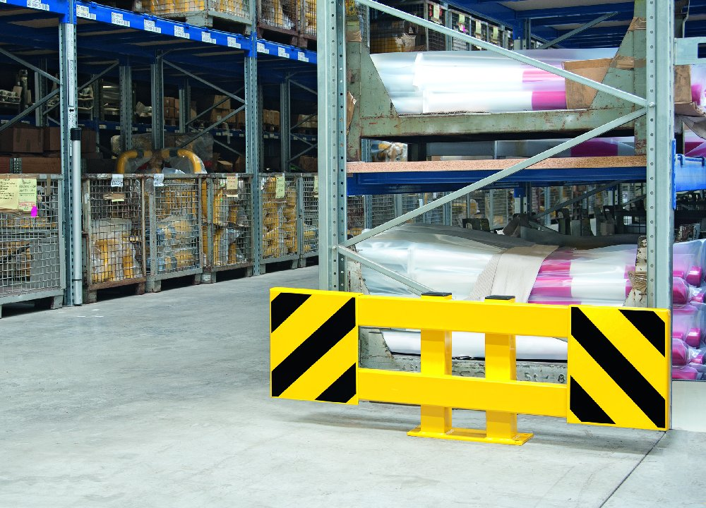 Protections extensibles pour rayonnage