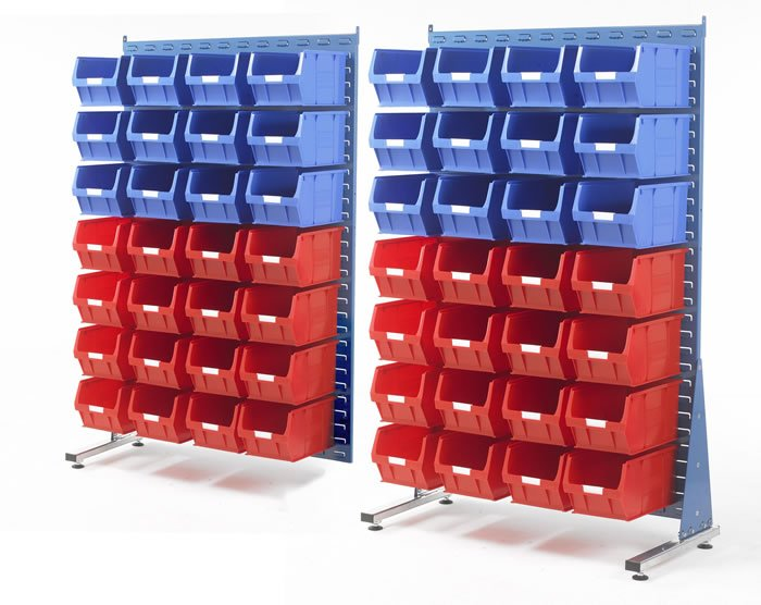 Panneaux d'accrochage à fentes 2 x 2