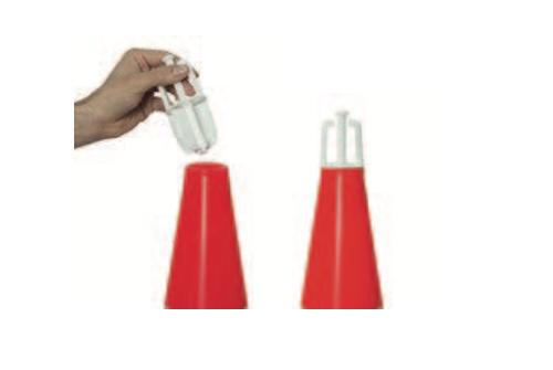 Cônes de signalisation lumineux, kit
