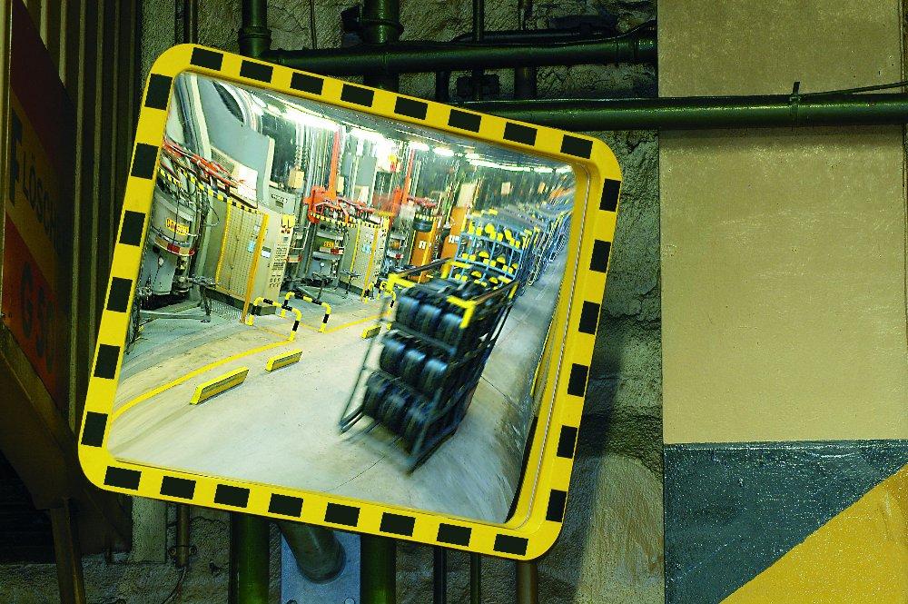 Miroirs industriels en verre acrylique