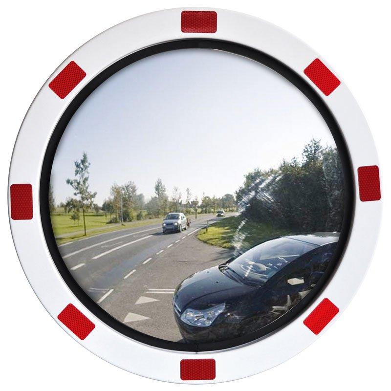 Miroir de signalisation rond antigel