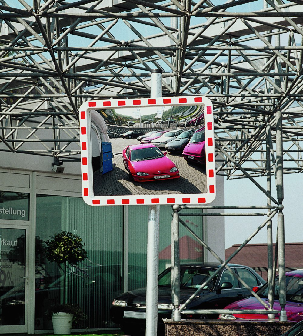 Miroirs trafic en verre acrylique