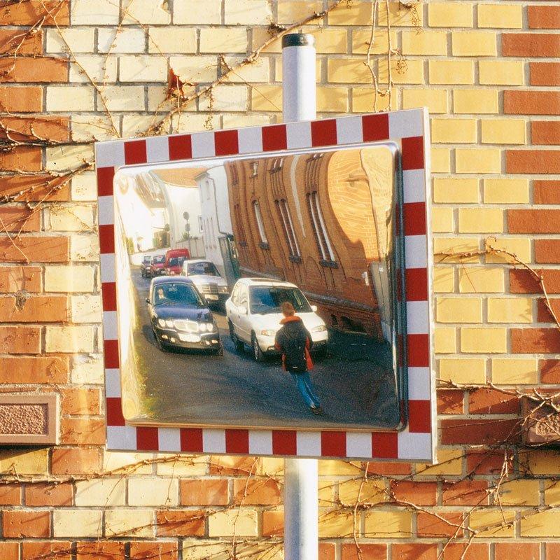 Miroir de signalisation rectangulaire