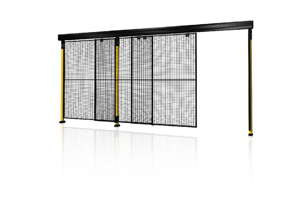 Portes coulissantes gigognes double rail