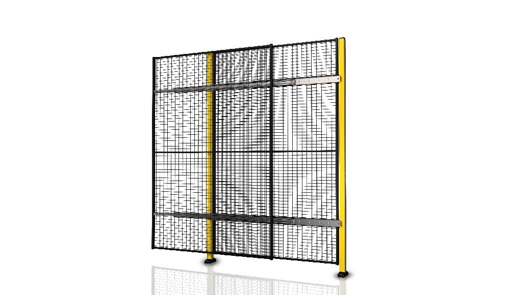 Portes coulissantes simple sans rail