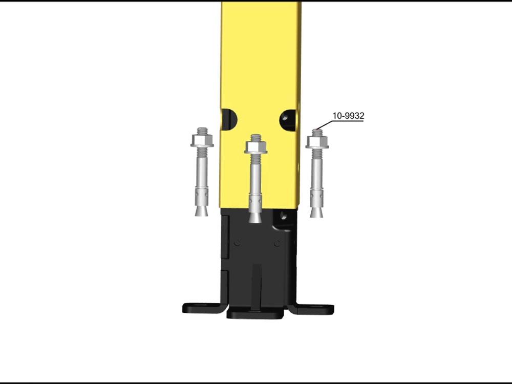 Poteaux 2 500 mm