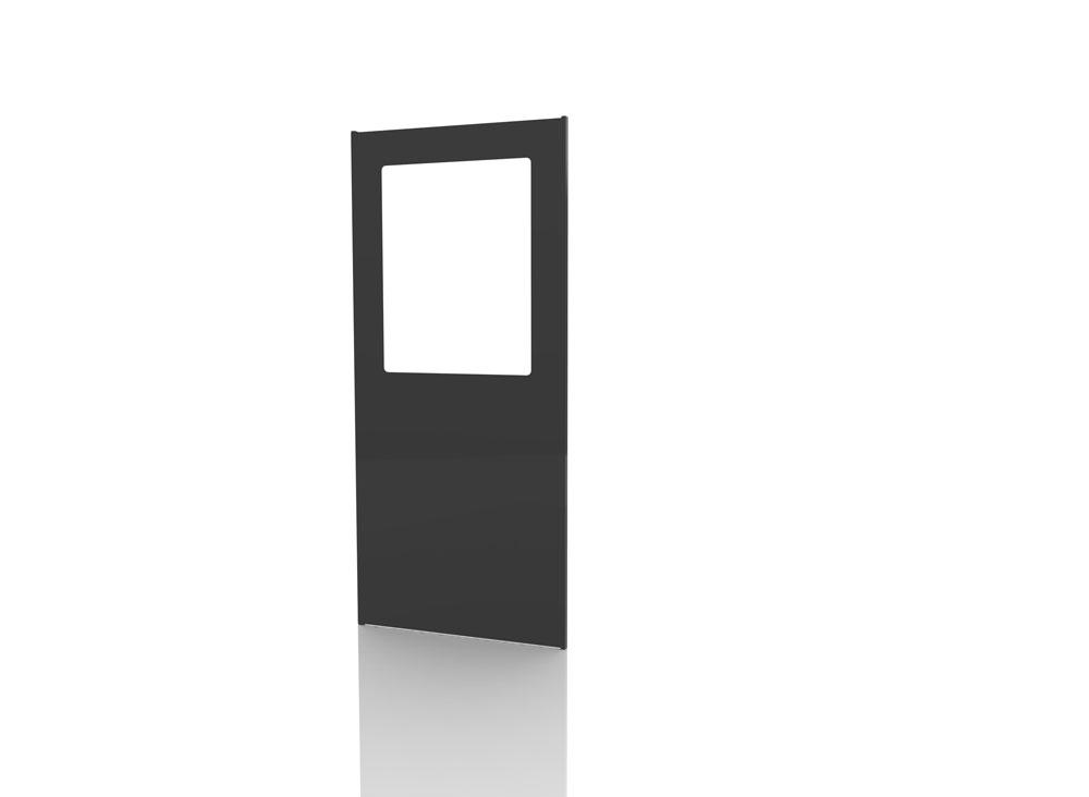 Panneaux tôlés 1 900 mm  Oculus Transparent