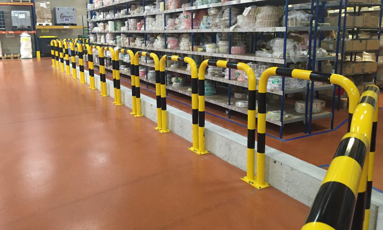 Barrières de protection pour entrepôts de stockage