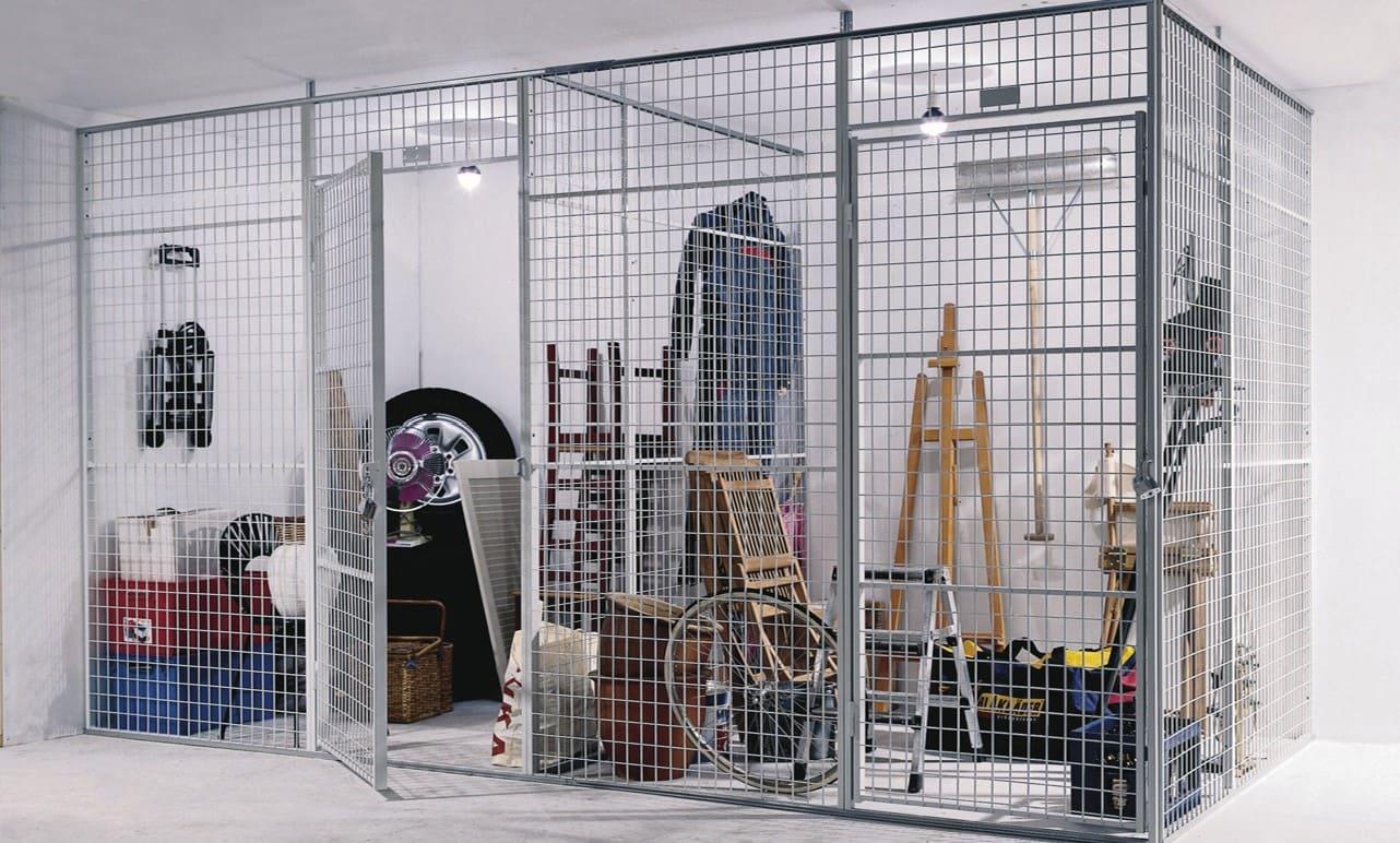 Box de stockage grillagés, la solution pour aménager vos espaces