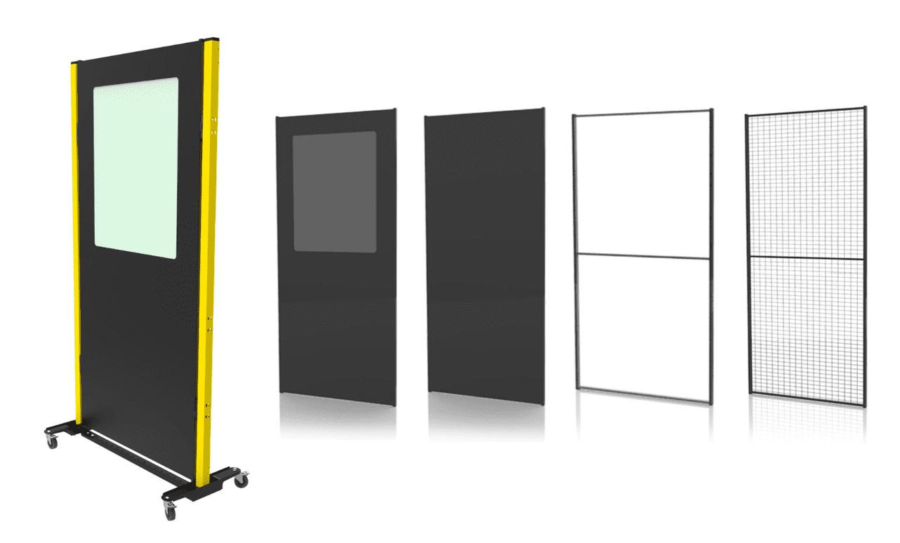Écrans mobiles de protection pour vous protéger délimiter des espaces