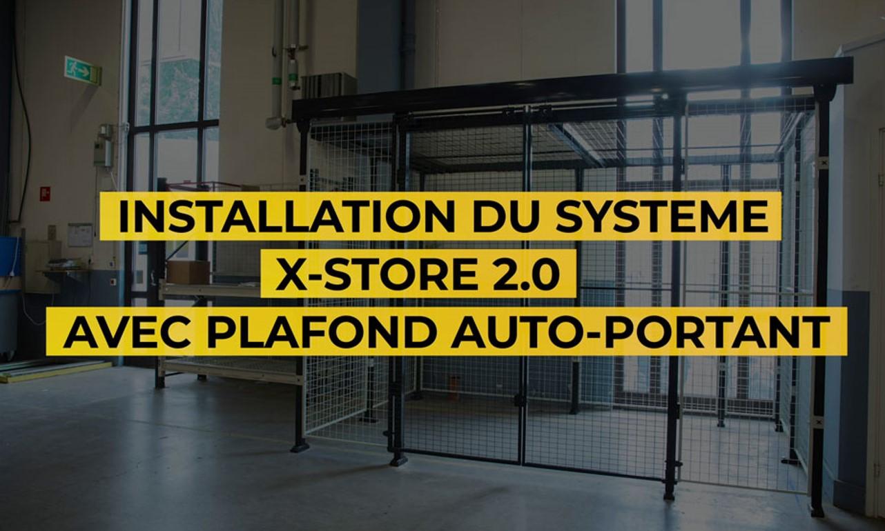X-Store 2.0 - Plafond auto-portant