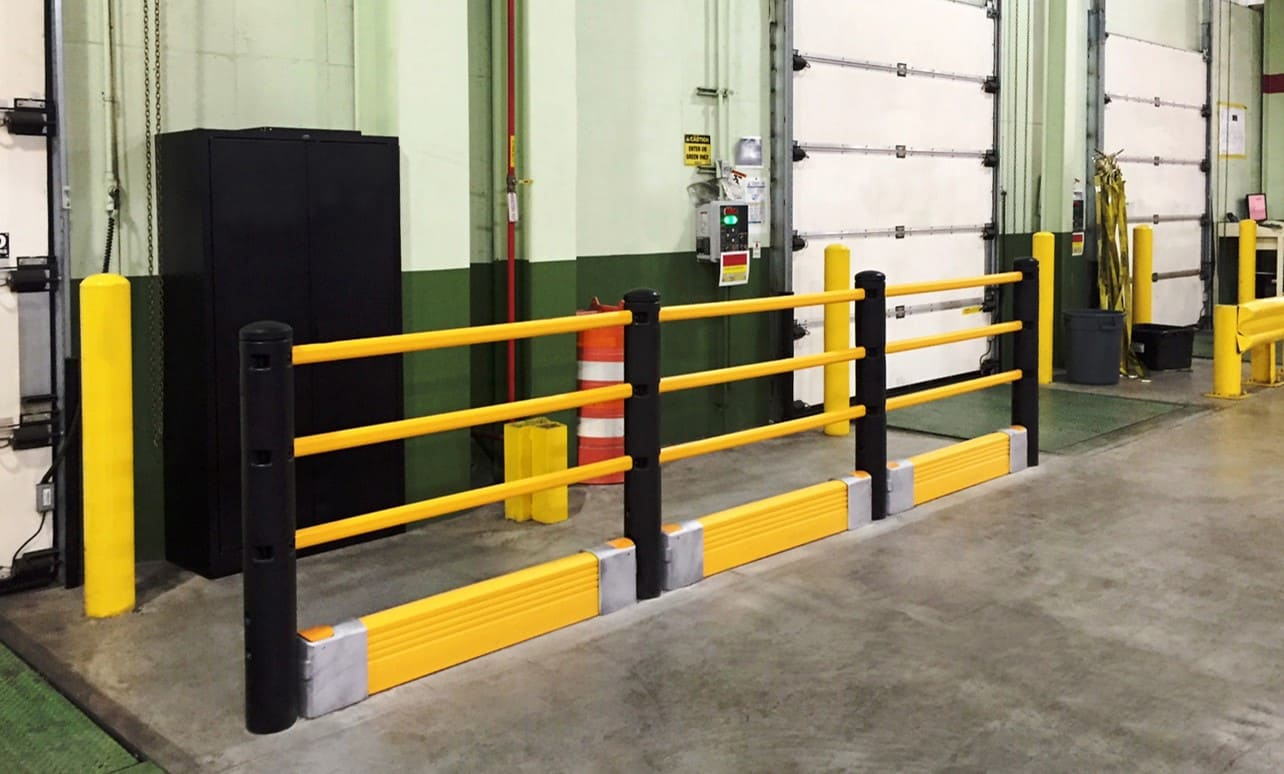 Combinaison barrières et bastaings